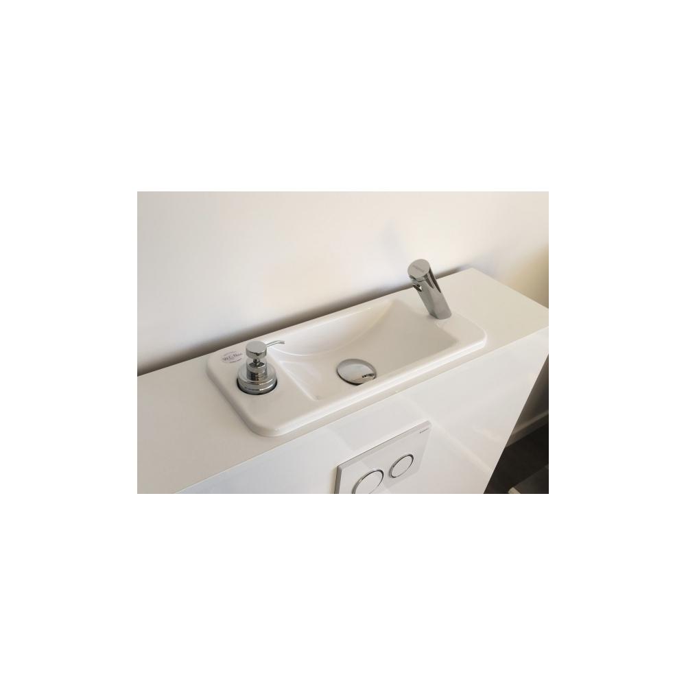 Wici next wc suspendu geberit avec lave mains compact int gr - Wc suspendu avec lave main ...