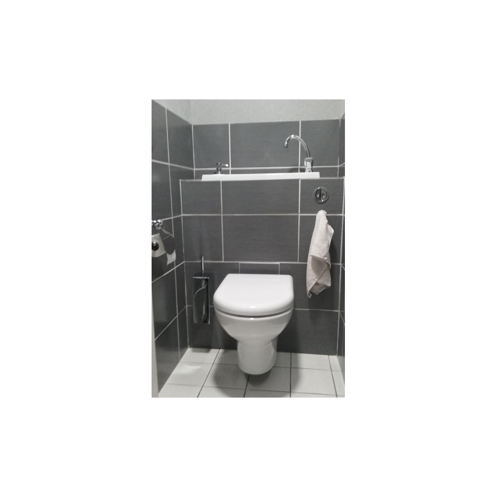 wc suspendu geberit avec cuvette sans bride et grand lave
