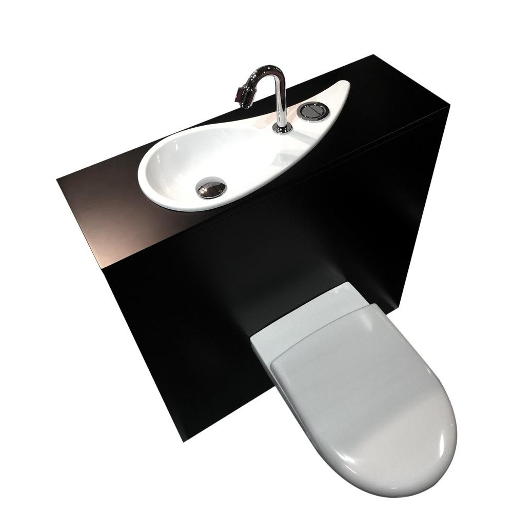 wici free flush wc suspendu geberit avec lave mains design wici concept. Black Bedroom Furniture Sets. Home Design Ideas