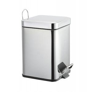 Metalic garbage can (square)