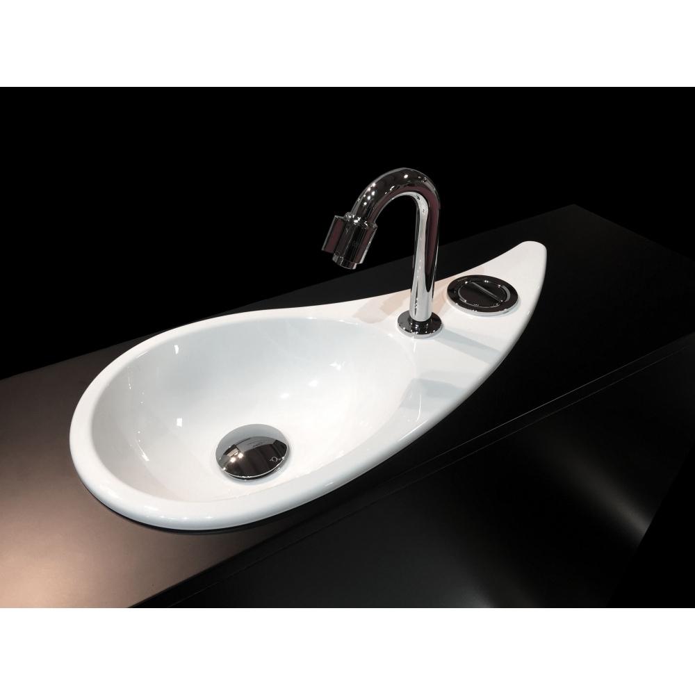 Wici Free Flush Water Drop Shaped Hand Washbasin Wici