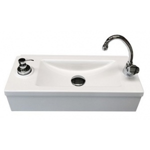 Disabled wash basin for public buildings