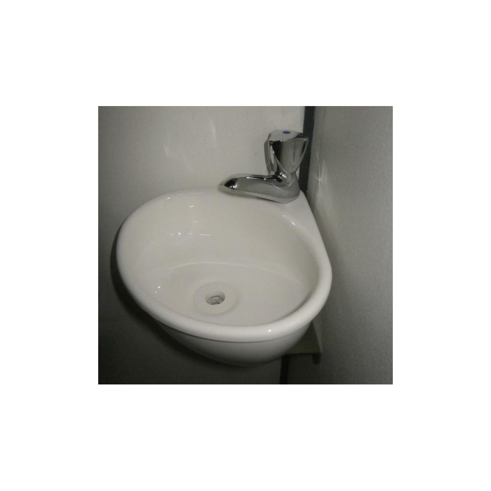 petit lave mains d 39 angle pour wc wici mini. Black Bedroom Furniture Sets. Home Design Ideas