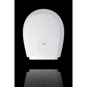 Compact hot air hand dryer WHT Clage