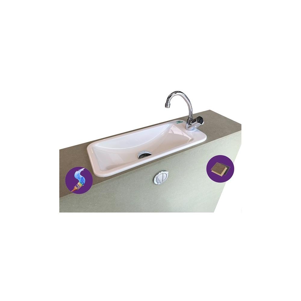 wici first pack wc suspendu geberit avec lave mains pas cher int gr. Black Bedroom Furniture Sets. Home Design Ideas