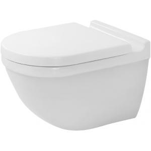 Toilet bowl suspended Starck 3 Rimfree