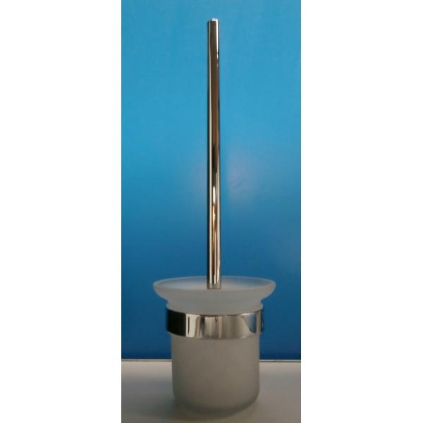 wc b rstenhalter wandmontage edelstahl glas. Black Bedroom Furniture Sets. Home Design Ideas