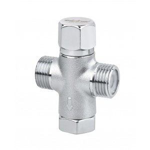 Hot and cold water mixer