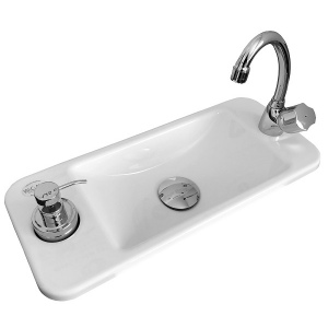 WiCi Next compact hand wash basin
