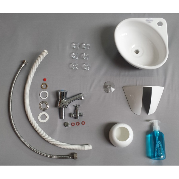 ... WiCi Mini, Adaptable Small Hand Wash Sink Kit With WC Pack ...