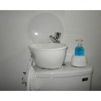wandschutz f r kleines handwaschbecken wici concept. Black Bedroom Furniture Sets. Home Design Ideas