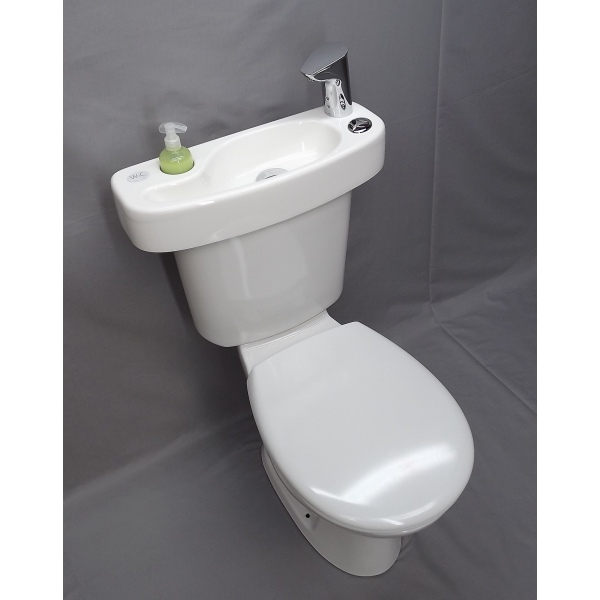 Wici Concept Adaptable Hand Wash Sink For Toilets With