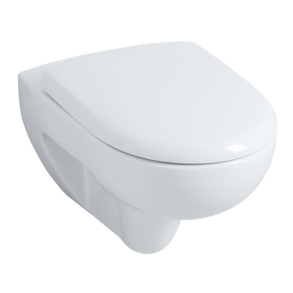 Geberit wall frame and allia prima rimfree toilet bowl - Pack toilette suspendu ...