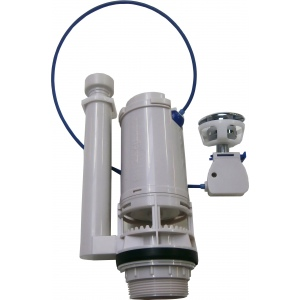 2-Mengen Spülmechanismus 3/6 Liter mit Kabelsteuerung