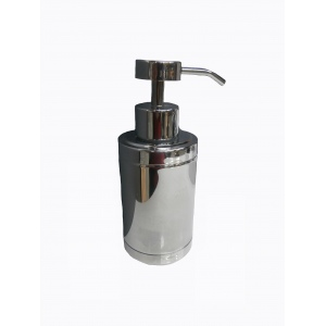 Strainless steel chrome soap dispenser