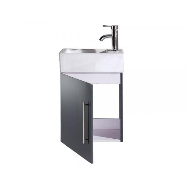 Lave mains sur meuble wici attis wici concept - Meuble vasque lave main ...