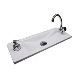 Vasque lave-mains carrée WiCi Bati - Design 1