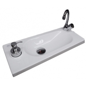 WiCi Boxi round hand wash basin - Design 2
