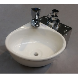 Mini Handwaschbecken für Personen mit eingeschränkter Mobilität