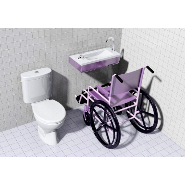 Wici Boxi Disabled Wash Basin For Public Buildings Wici
