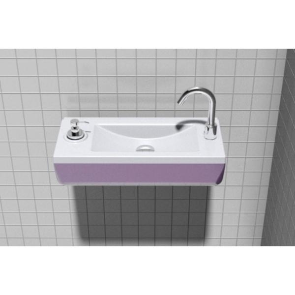 lavabo pmr compact pour erp wici concept. Black Bedroom Furniture Sets. Home Design Ideas