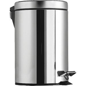 Metalic garbage can (round)