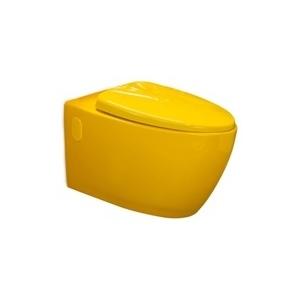 Toilet bowl, yellow (Piou) 57 cm