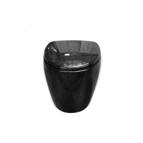 cuvette couleur noire black pearl 57 cm wici concept. Black Bedroom Furniture Sets. Home Design Ideas