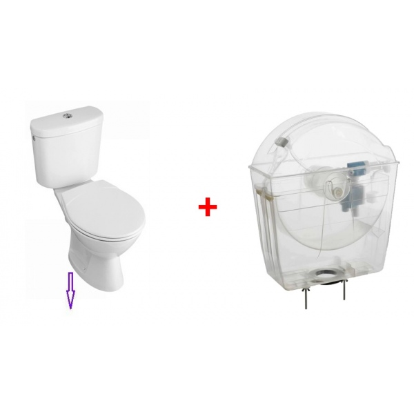 r 233 servoir wc 233 conomie d eau avec pack wc sortie verticale