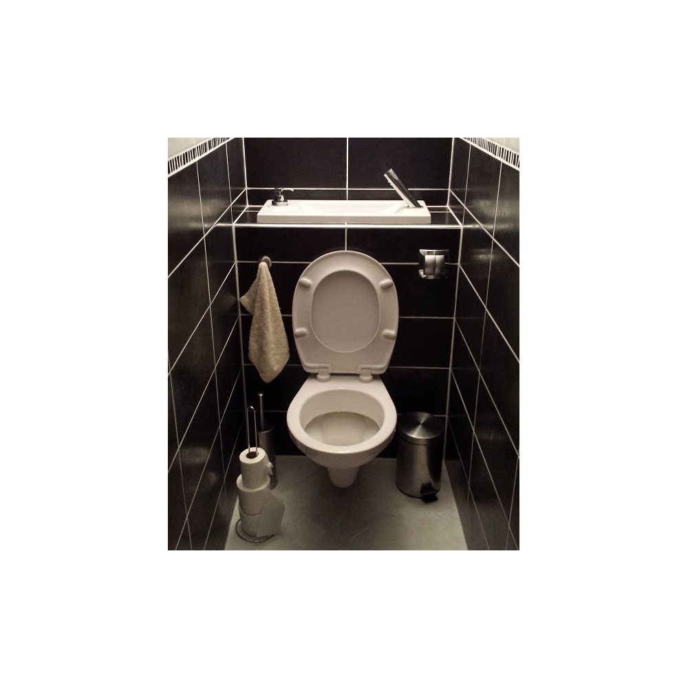 wici bati wc suspendu geberit avec grand lave mains int gr. Black Bedroom Furniture Sets. Home Design Ideas