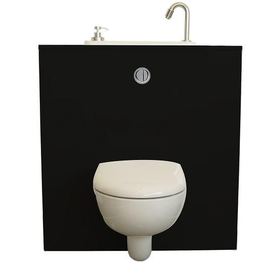 Wand-WC mit WiCi Next Waschbecken – Modell Biker   WiCi Concept