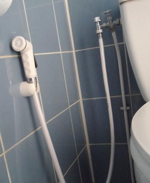 Douchette hygiene WC blanche 2