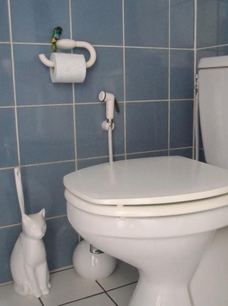 Douchette hygiene WC blanche 1