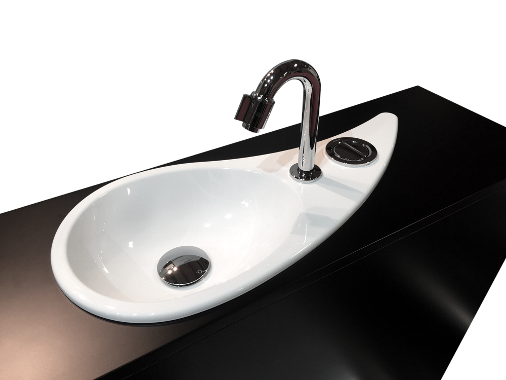 wici free flush wc suspendu geberit avec lave mains design int gr wici concept. Black Bedroom Furniture Sets. Home Design Ideas