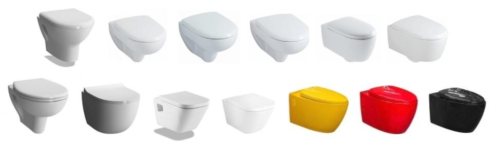 Cuvettes WC suspendues pour WiCi Next