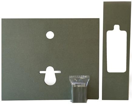 Habillage brut mur à mur MDF hydrofuge 19mm WiCi Concept