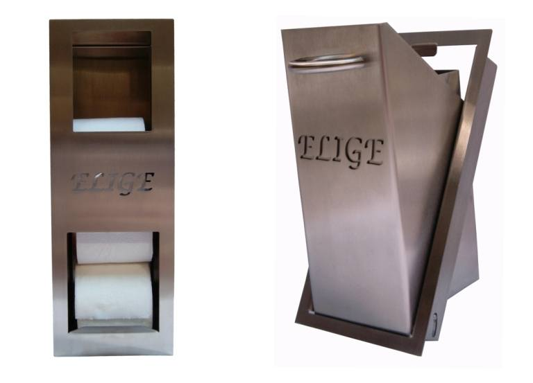 Paper storage container and garbage can pack