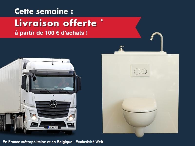 Promotion WiCi Concept de la semaine : frais de port offerts à partir de 100€ d'achats