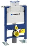 Geberit 82cm low-height freestanding mechanical wall-frame