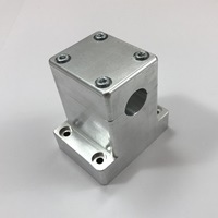 One-piece aluminum wall-mounted holder