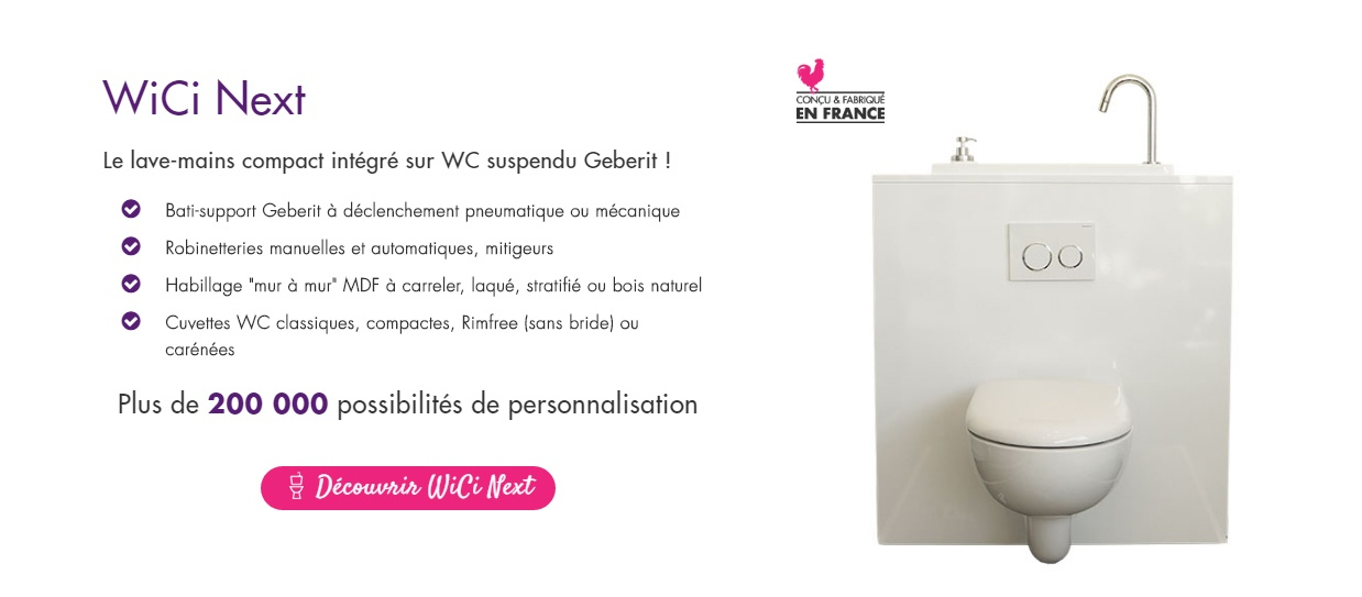 Wici Concept The Shop Specialized In Toilets With Hand Washbasins
